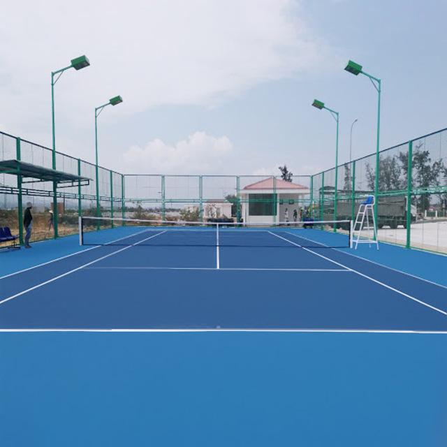 Quy trình thi công sân Tennis tiêu chuẩn, bền đẹp chất lượng cao