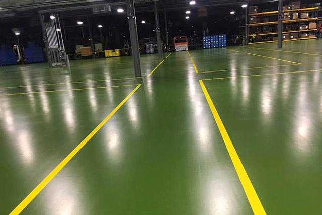 Quy trình thi công sơn sàn epoxy nhà xưởng, UY TÍN SỐ #1